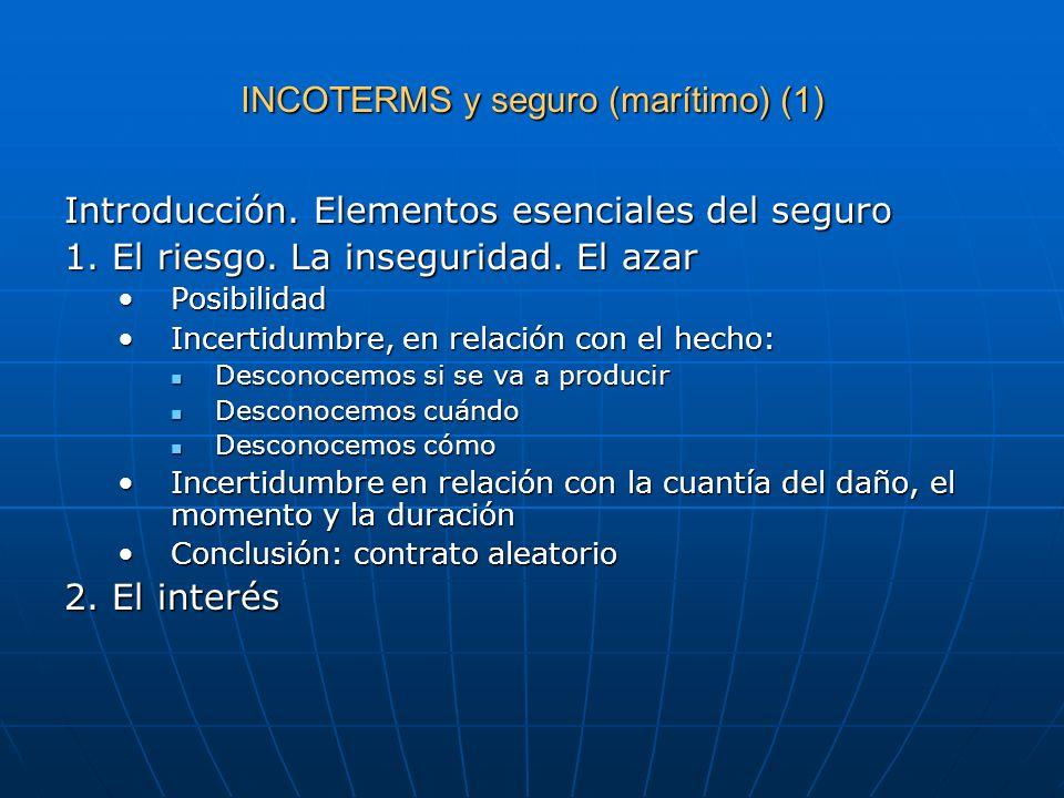 INCOTERMS y seguro (marítimo) (1)