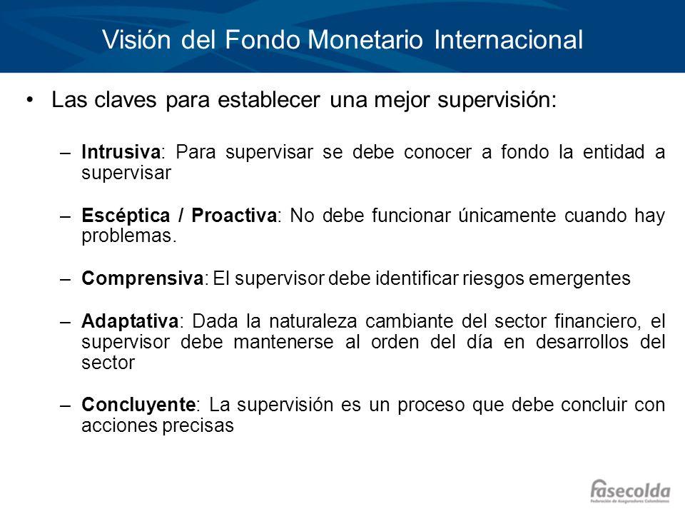 Visión del Fondo Monetario Internacional