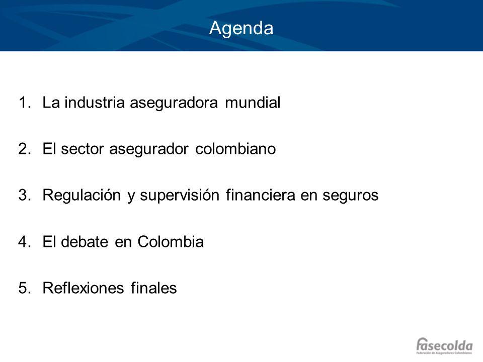 Agenda La industria aseguradora mundial