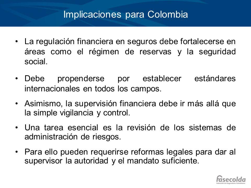 Implicaciones para Colombia