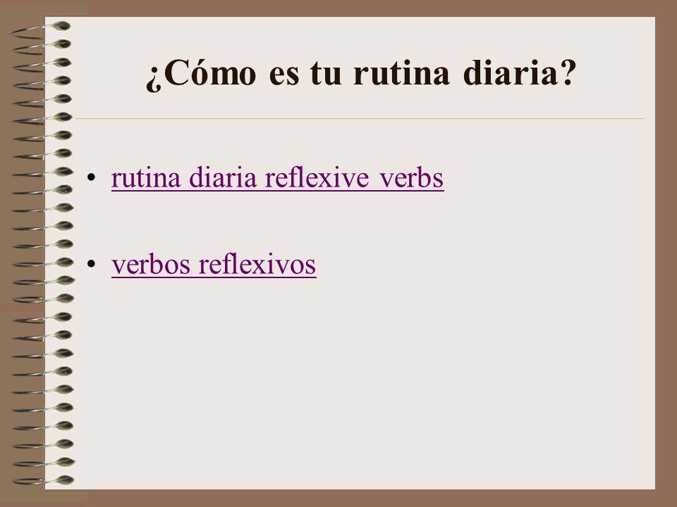 Mi rutina diaria Buenos Días. - ppt video online descargar