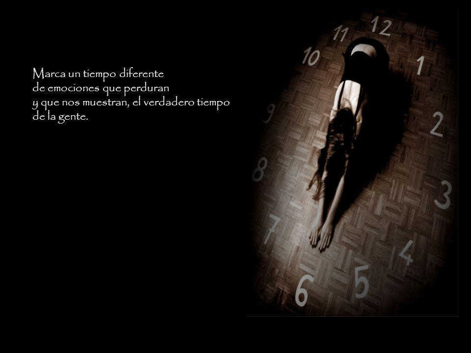Marca un tiempo diferente
