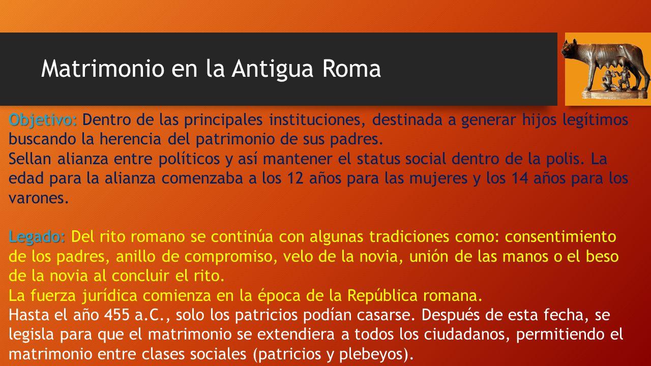 Matrimonio Romano Tipos : El matrimonio ppt descargar