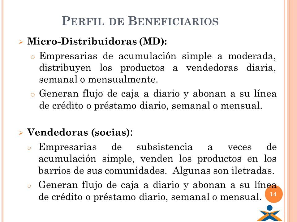 Perfil de Beneficiarios