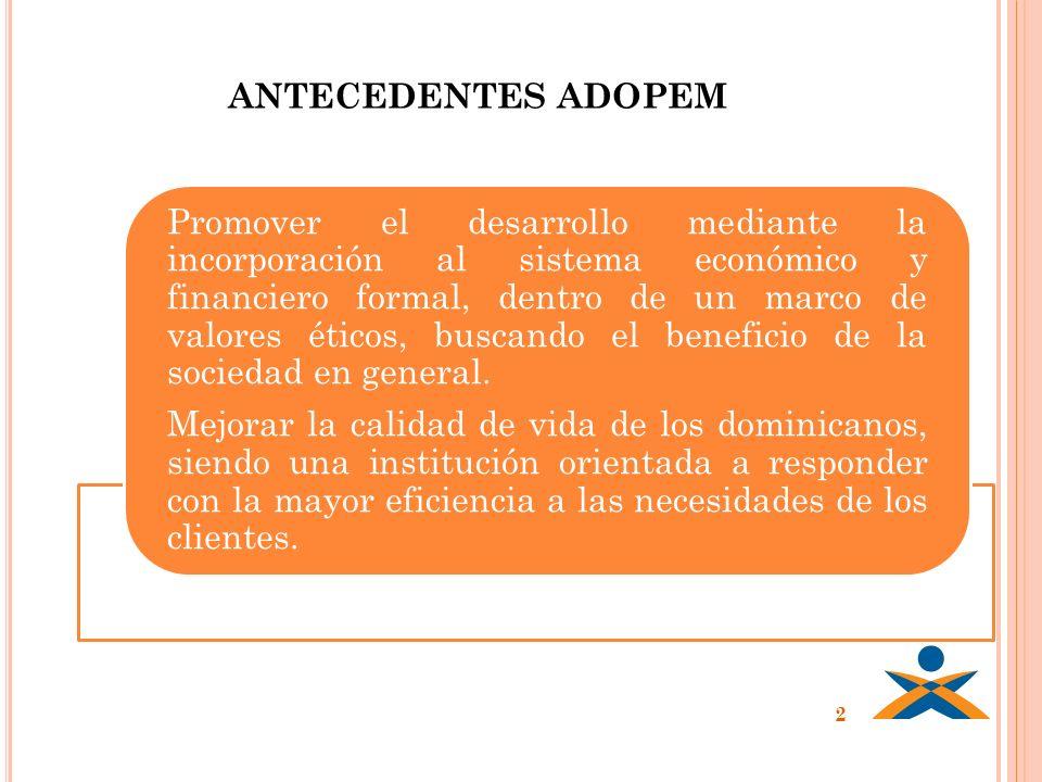 ANTECEDENTES ADOPEM