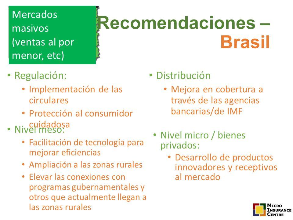 Recomendaciones – Brasil