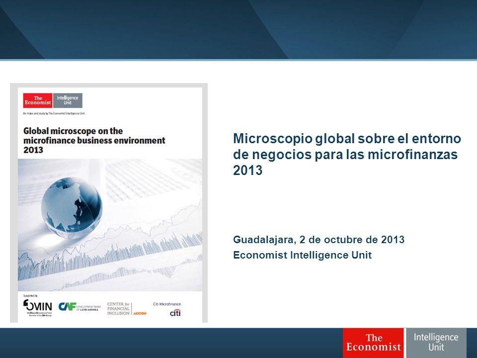 Microscopio global sobre el entorno de negocios para las microfinanzas 2013