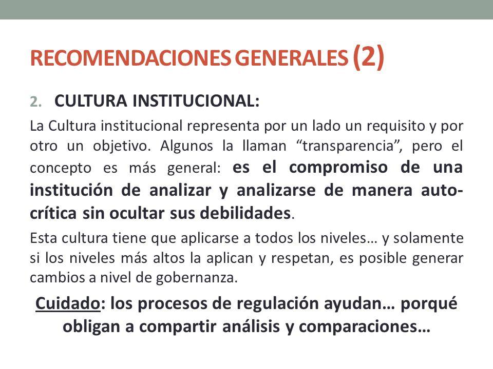 RECOMENDACIONES GENERALES (2)