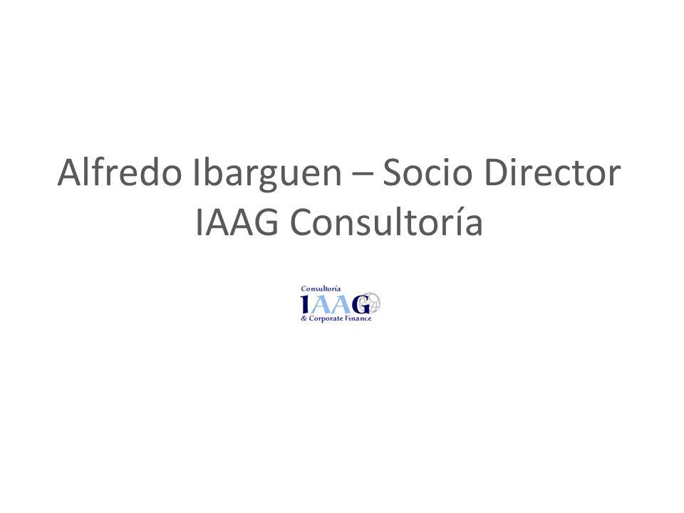Alfredo Ibarguen – Socio Director IAAG Consultoría