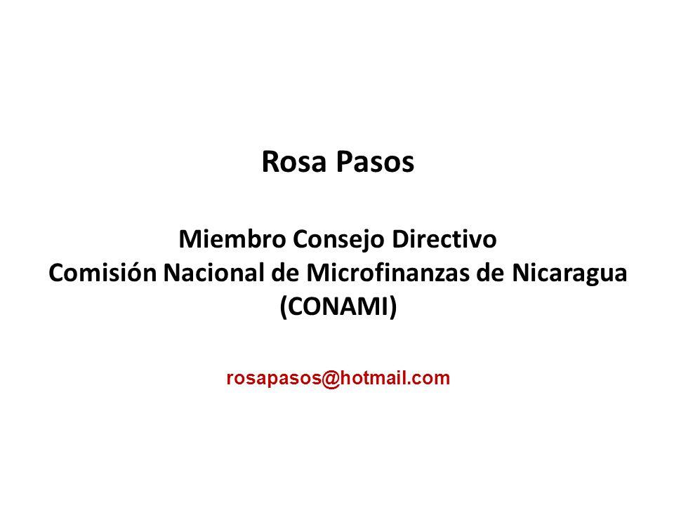 Rosa Pasos Miembro Consejo Directivo