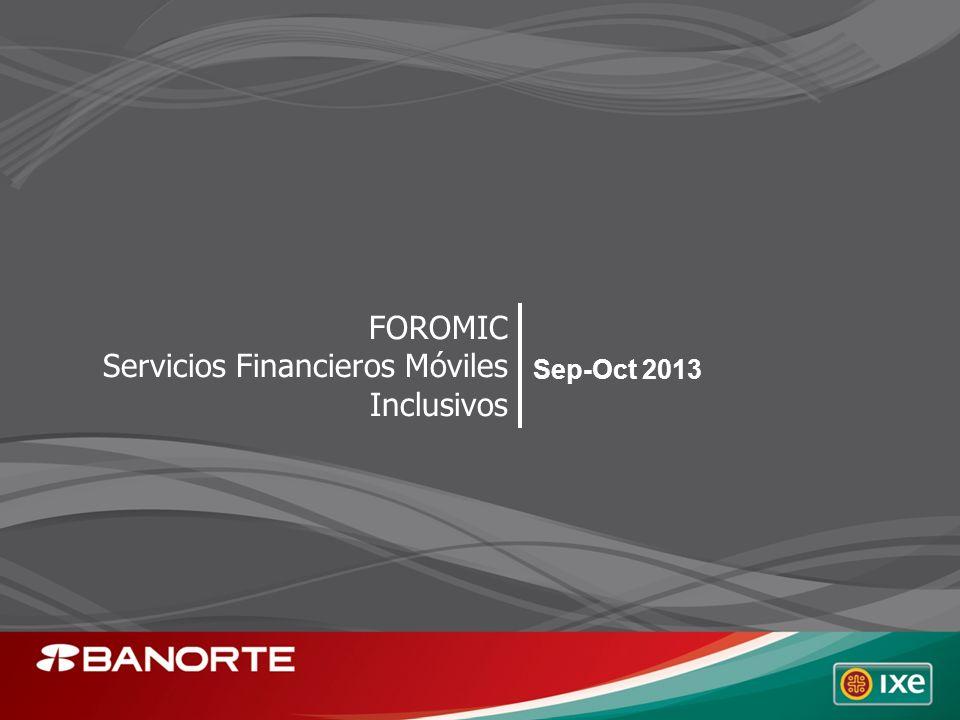 FOROMIC Servicios Financieros Móviles Inclusivos