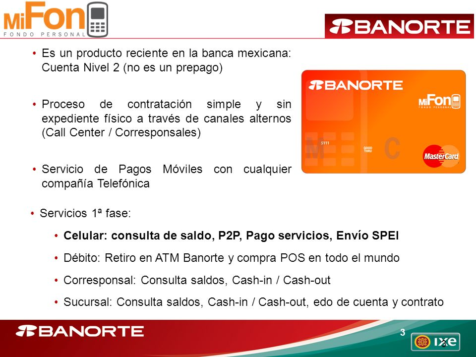 Es un producto reciente en la banca mexicana: Cuenta Nivel 2 (no es un prepago)