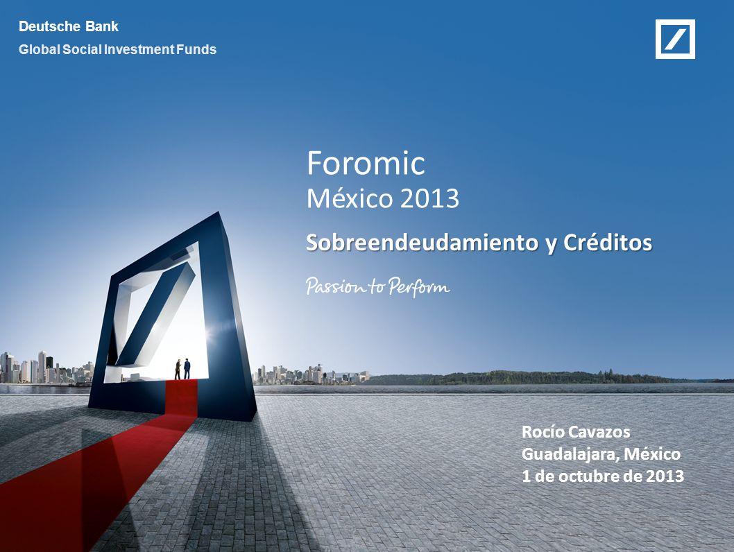 Sobreendeudamiento y Créditos
