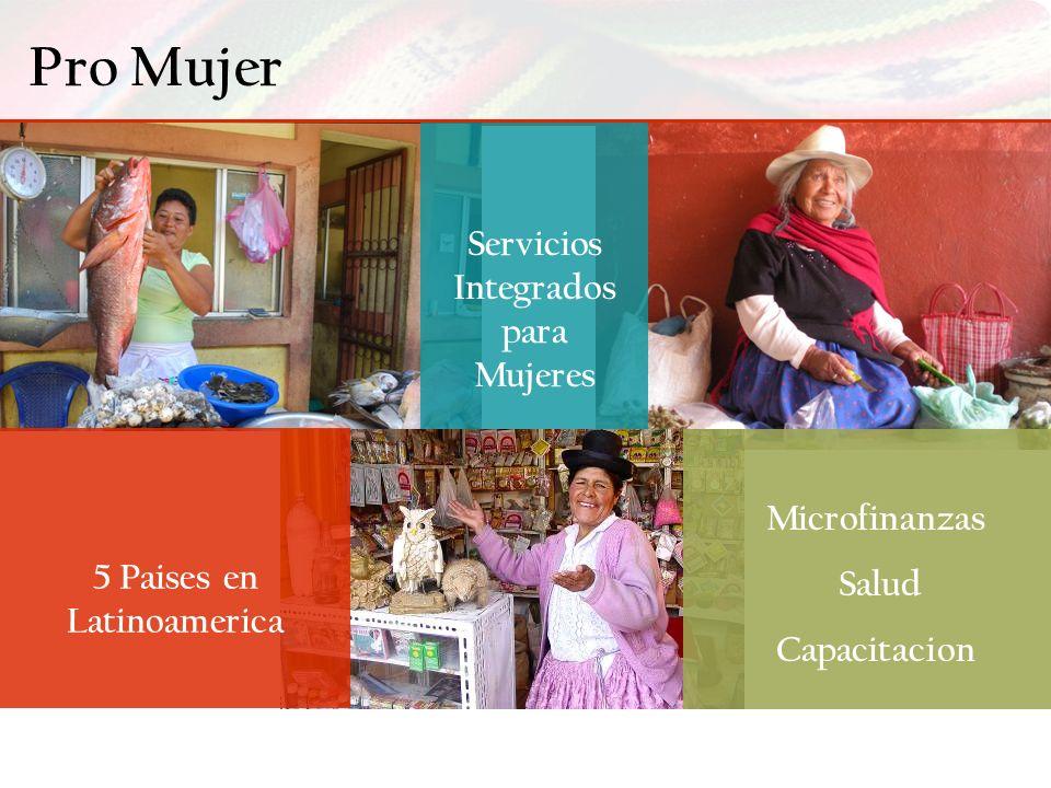 Servicios Integrados para Mujeres 5 Paises en Latinoamerica