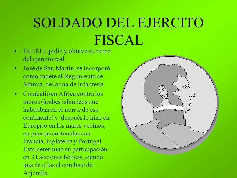 SOLDADO DEL EJERCITO FISCAL
