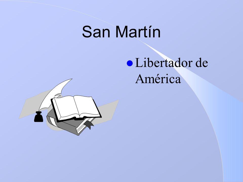San Martín Libertador de América