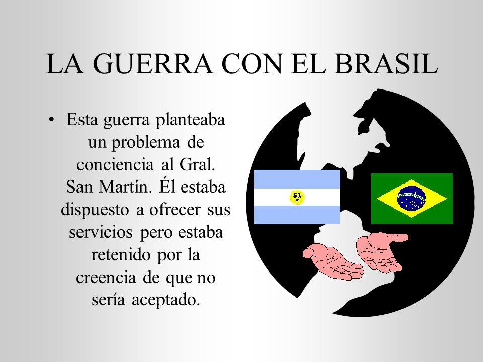 LA GUERRA CON EL BRASIL