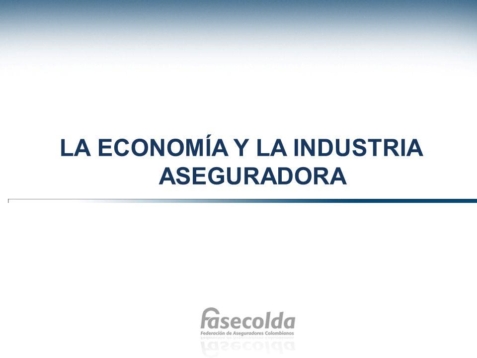 La economía y la industria aseguradora
