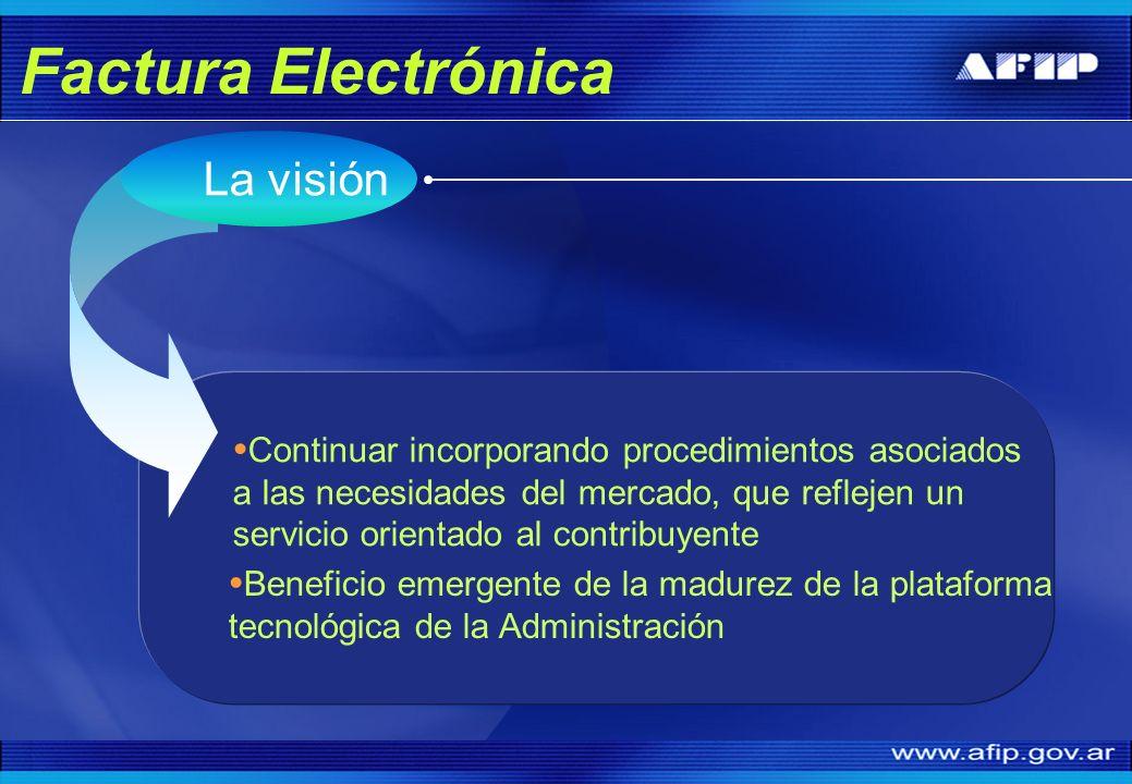 Factura Electrónica La visión