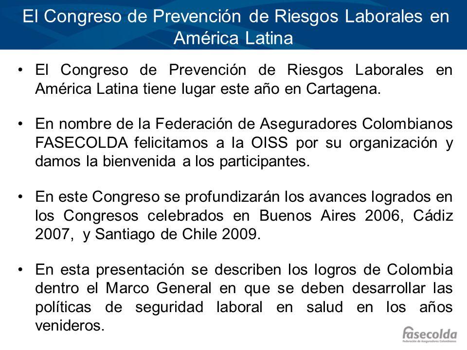 El Congreso de Prevención de Riesgos Laborales en América Latina