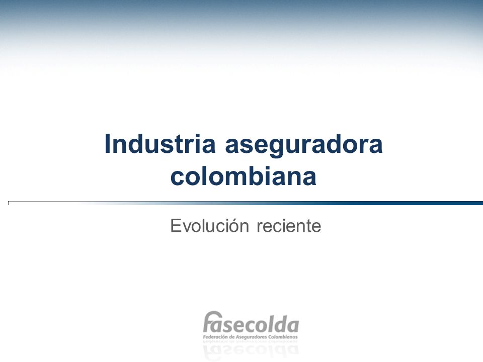 Industria aseguradora colombiana