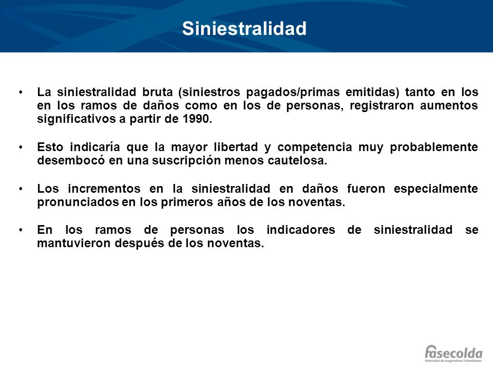 Siniestralidad