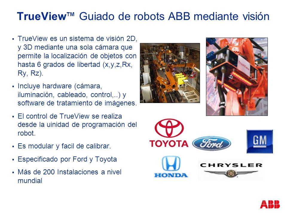 TrueViewTM Guiado de robots ABB mediante visión