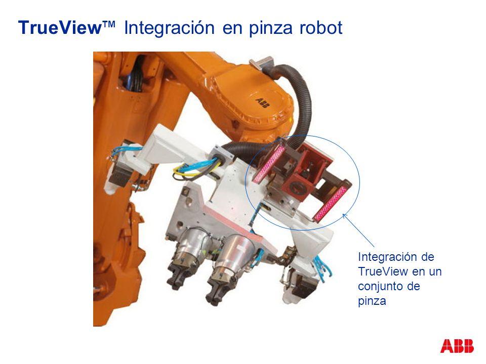 TrueViewTM Integración en pinza robot