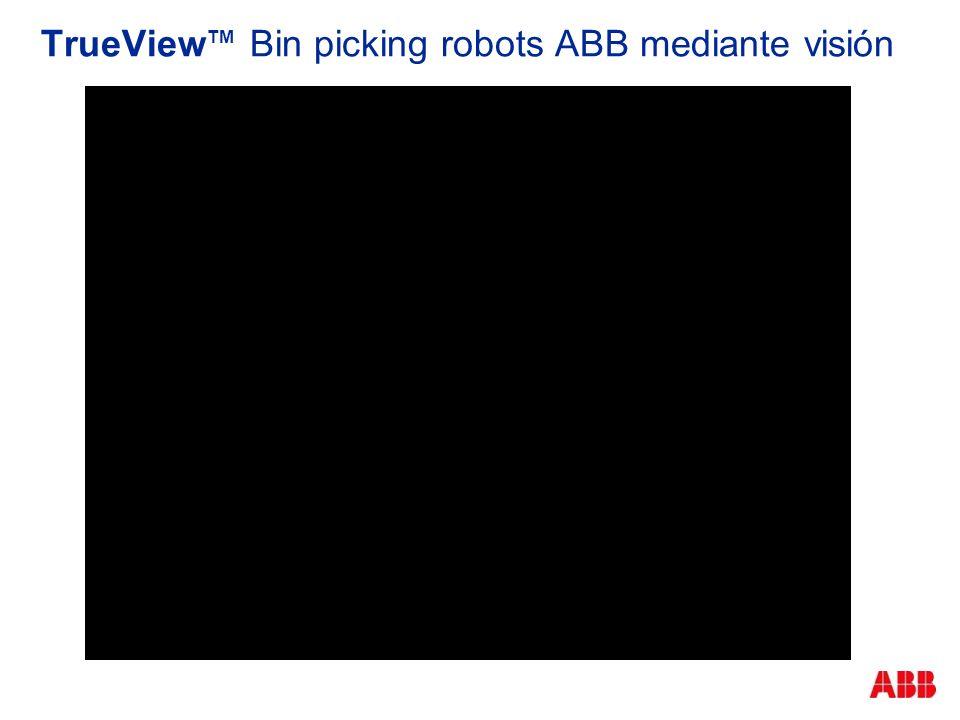 TrueViewTM Bin picking robots ABB mediante visión