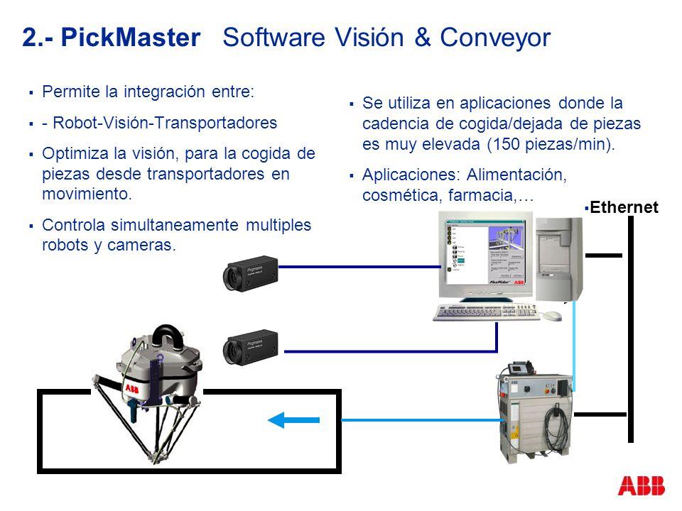 2.- PickMaster Software Visión & Conveyor