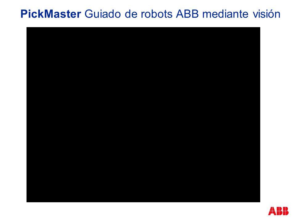 PickMaster Guiado de robots ABB mediante visión