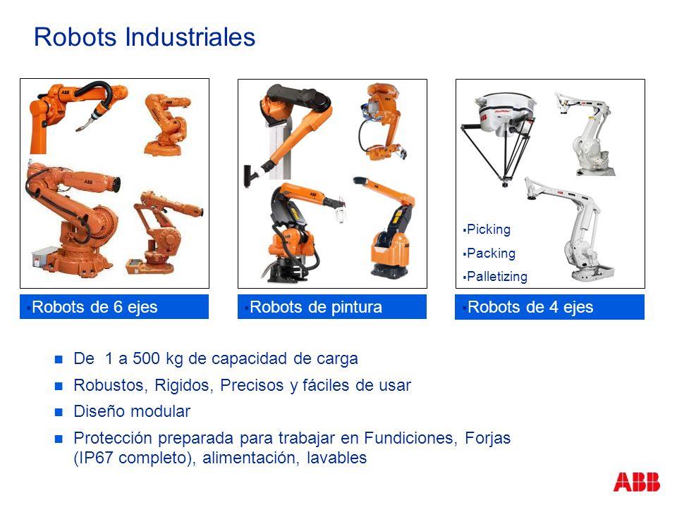Robots Industriales Robots de 6 ejes Robots de pintura