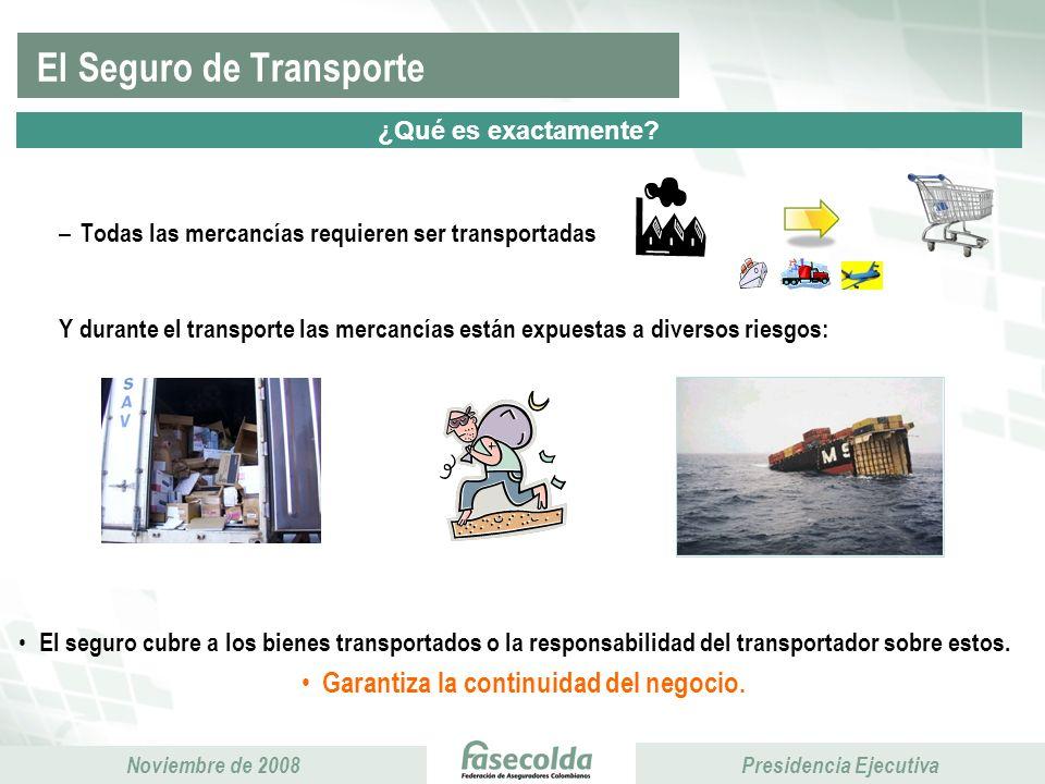 El Seguro de Transporte