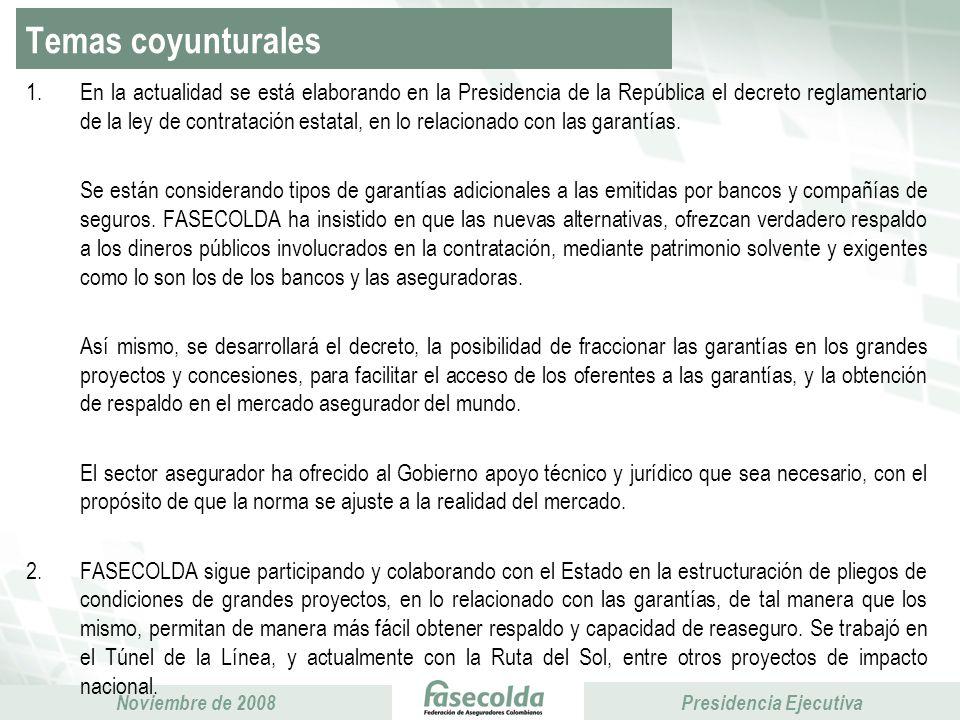 Temas coyunturales