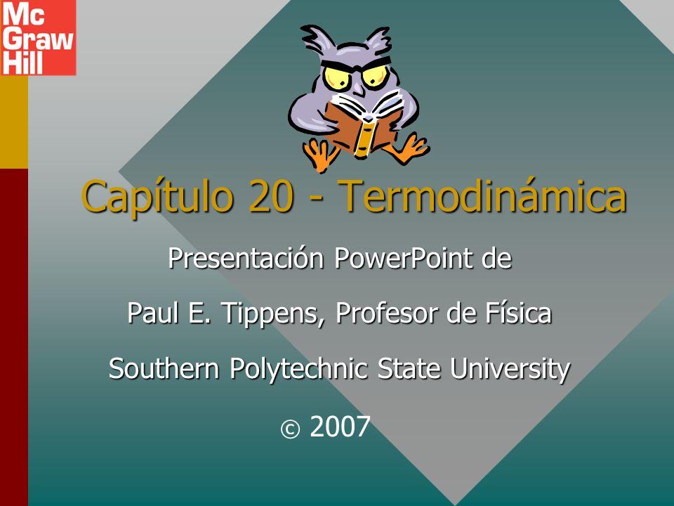Capítulo 20 - Termodinámica