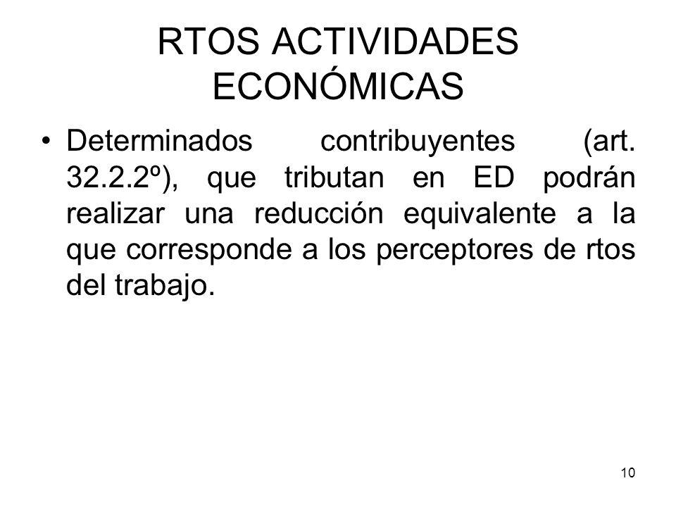 RTOS ACTIVIDADES ECONÓMICAS