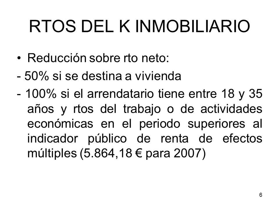 RTOS DEL K INMOBILIARIO