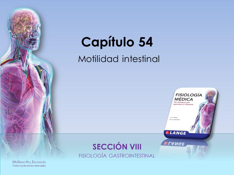 Capítulo 54 Motilidad intestinal