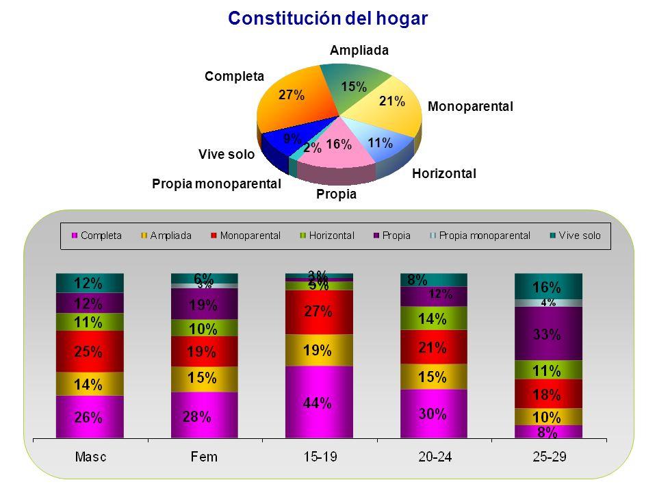 Constitución del hogar