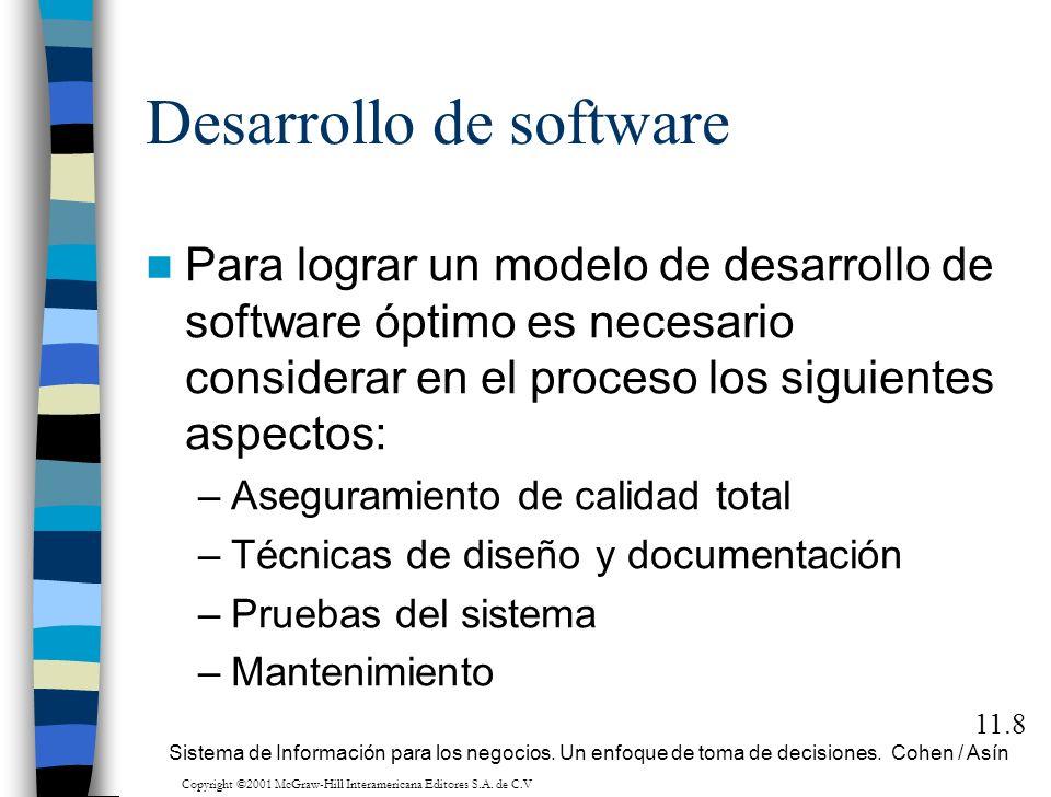 Sistemas de información para los negocios Un enfoque de toma de decisiones