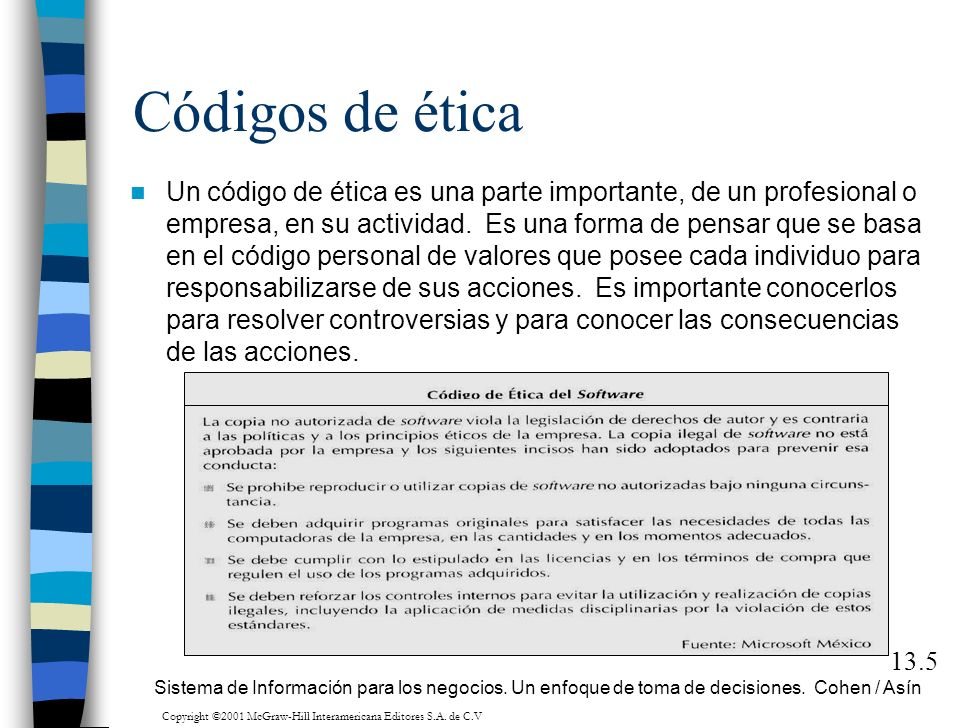 Copyright ©2001 McGraw-Hill Interamericana Editores S.A. de C.V