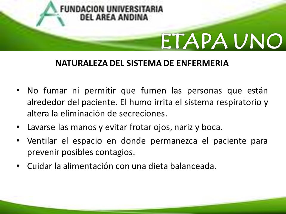 NATURALEZA DEL SISTEMA DE ENFERMERIA