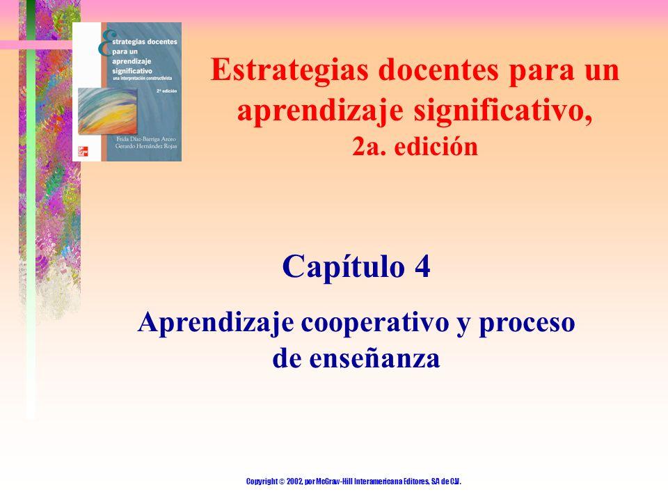 Estrategias docentes para un aprendizaje significativo, 2a. edición