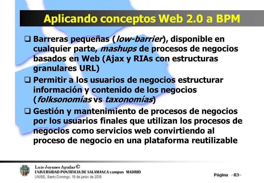 Aplicando conceptos Web 2.0 a BPM