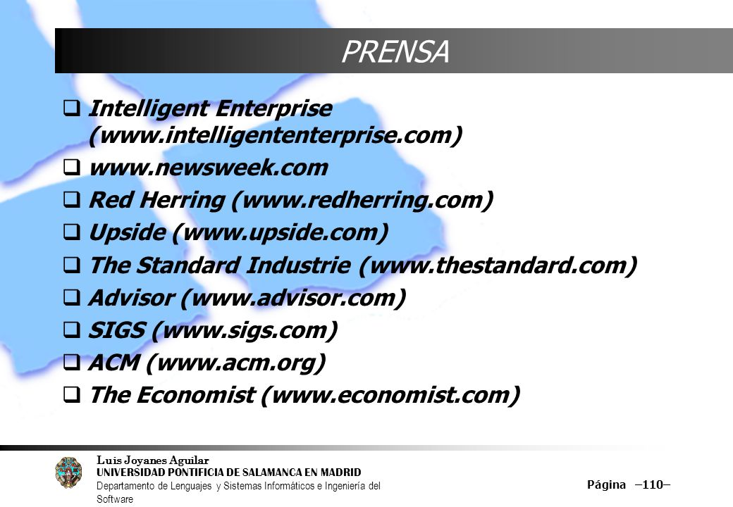 PRENSA Intelligent Enterprise (