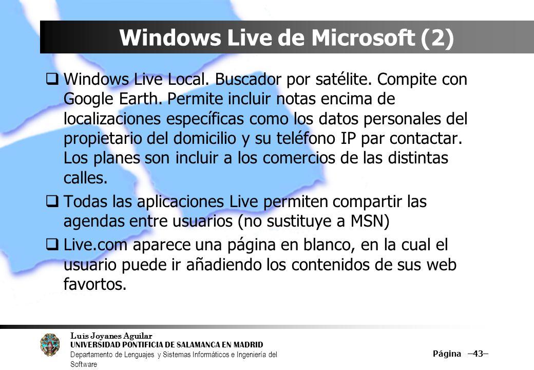 Windows Live de Microsoft (2)