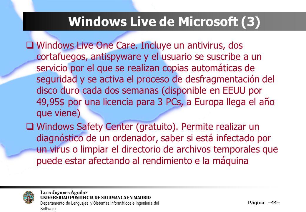 Windows Live de Microsoft (3)