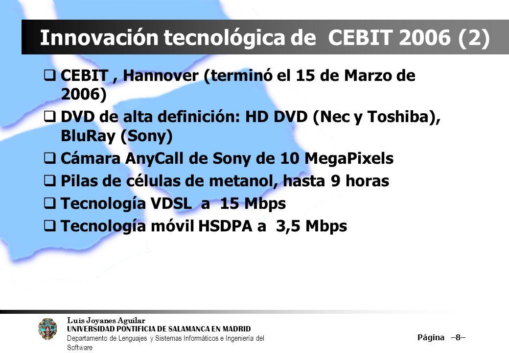 Innovación tecnológica de CEBIT 2006 (2)