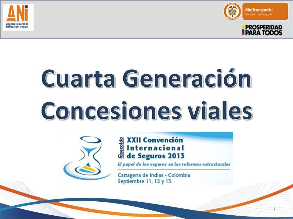 Cuarta Generación Concesiones viales