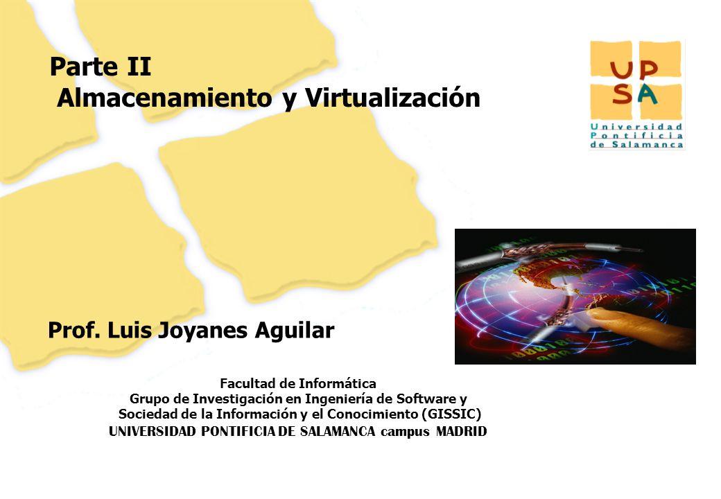 Parte II Almacenamiento y Virtualización